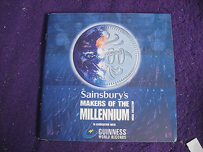 Sainsbury's Makers Of The Millennium Medal Album (Guinness World Records)