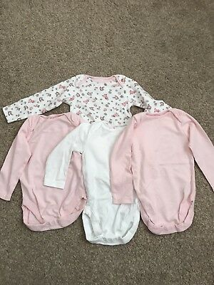 Next Girls Long Sleeved Vests 1.5-2yrs