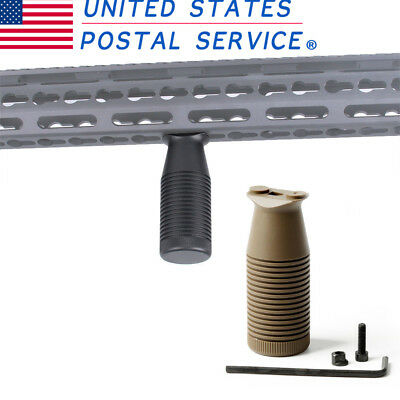 Hunt Outdoor Tactical Vertical Foregrip for Keymod Quad Rail Handguard Grip USPS