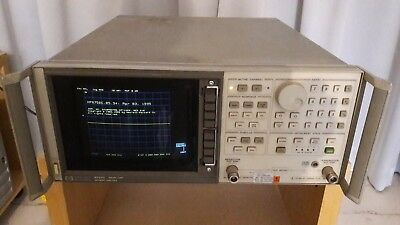 HP/Agilent 8752C Network Analyzer 300kHz - 3GHz Option 003 010