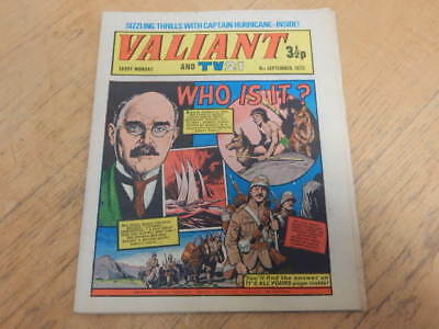 VALIANT And TV 21 Comic 8th September 1973