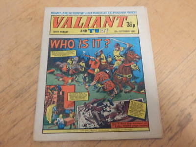 VALIANT And TV 21 Comic 29th September 1973