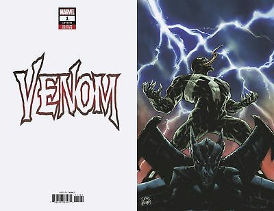 VENOM 1 2018 RYAN STEGMAN 1:100 B&W SKETCH INCENTIVE VARIANT NM Presale Movie