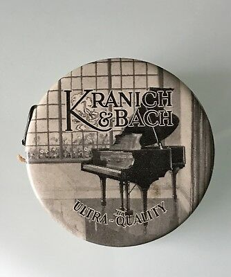 Vintage Kranich & Bach Piano Advertising Celluloid Sewing Tape Measure