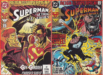 One (1) 'Superman in Action Comics' Comic Book and One FREE