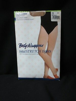 NEW Children M/L 8-14 Body Wrappers Stretch Tights Stirrup Foot