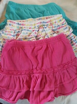 Toddler Girls Skorts 3T Jumping Beans Lot of 3