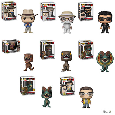 Funko Pop! Movies:  Jurassic Park - All New with Free Shipping
