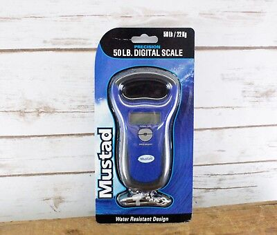 Mustad MT-50DSCL 50LB Digital Fish Scale New & Sealed!