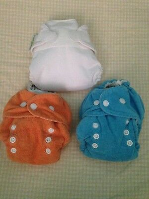 Size One AIO Thirsties and XS AIO Bum Genius Cloth Diapers