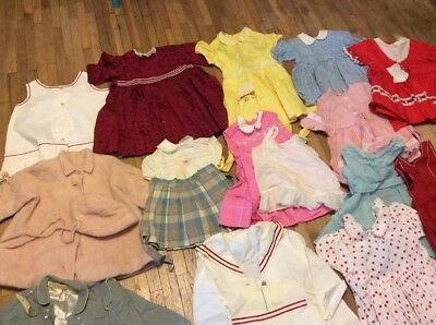 Lot of Vintage Children's Clothing 1920's, 30's 40's ???