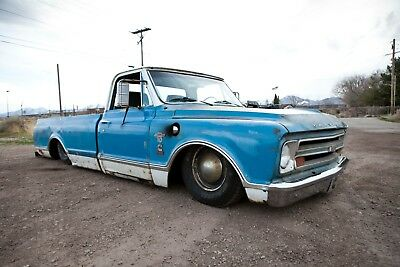 1967 Chevrolet C-10 Custom 1967 Chevrolet C10 pickup Cummins NO RESERVE swapped airbagged air ride patina