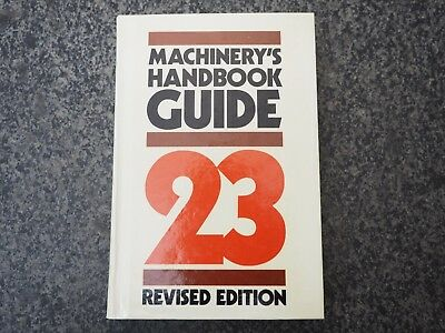 Hardcover Book, Machinery's Guide 23rd Revised Edition