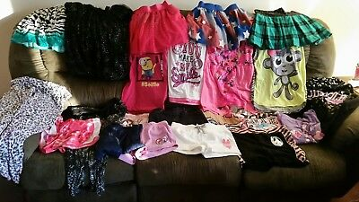 Girls Huge Clothing Lot 23 Piece size 14 16 18 20 Mostly Justice brand