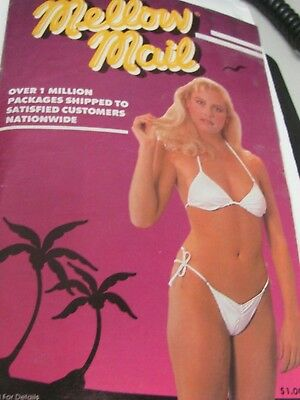 vintage Mellow Mail lingerie and erotica catalog -- mid 1980's