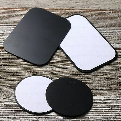 8PCS Replacement Adhesive Metal Plate for Magnetic Car Cell Phone Holder Mount w