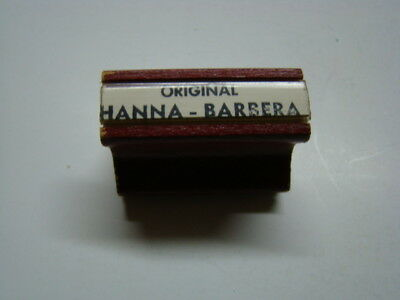 Hanna-Barbera Cartoon Cel added Watercolor Background Rubber Stamp 1970's