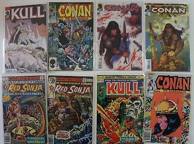 Conan The Barbarian King Kull Red Sonja Elric Annual Marvel Dark Horse LOT of 68