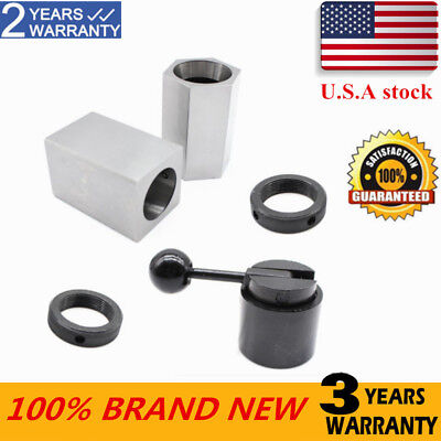 5C Collet Block Chuck Set - Square Hex Acting Rings collet High hardness