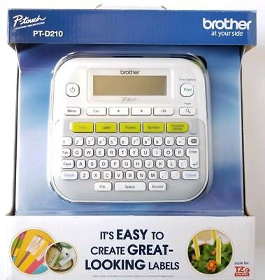 Brand New! Brother PTD210 P-Touch Easy Compact Label Maker~ Free Shipping~