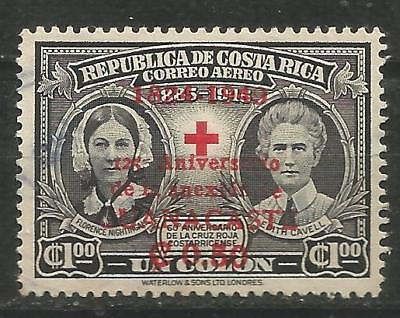 COSTA RICA Scott # C183 Cruz Red 1949