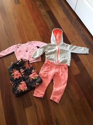 Baby Girls Mixed Bundle Size 12 Months