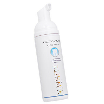 Amabrush Toothpaste V-WHITE 60ml Whitening Foam Natural Mouth Wash Water