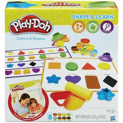 Play-Doh Colours and Shapes Activity Set