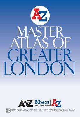 London Master Atlas by Geographers' A-Z Map Company New Paperback Book