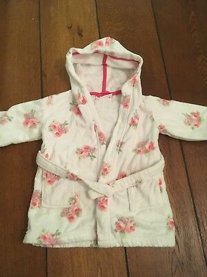the little white company Towelling Dressing Gown 12-18 Months