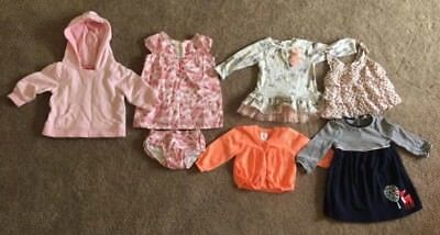 Baby Girl Mixed Clothes Size 0