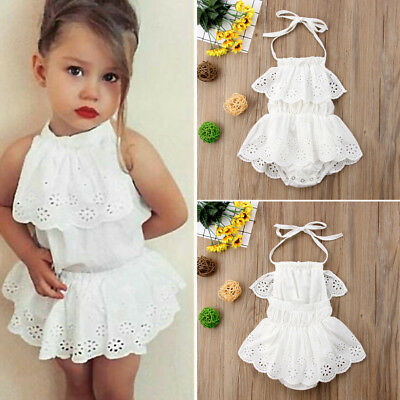 One-piece Newborn Baby Girl Kids Clothes Cute Bodysuit Romper Jumpsuit Outfits