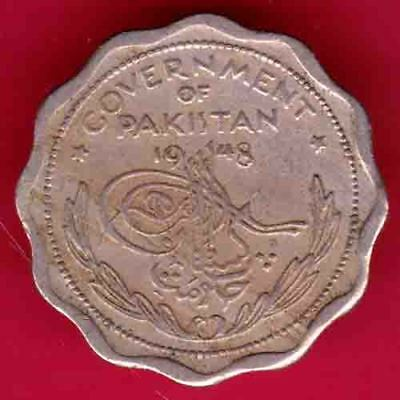 Pakistan - 1948 - One Anna - Rare Coin #r33