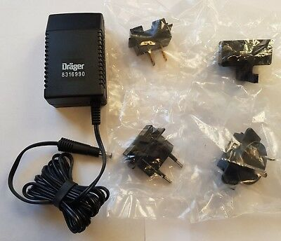DRAGER - AC Adapter Charger for Miniwarn Gas Detector - 8316990