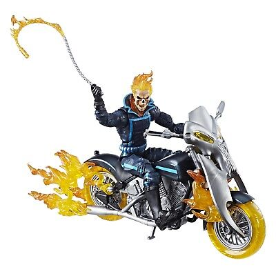 Marvel Legends Series 6-inch Ghost Rider with Flame Cycle Johnny Blaze Figure