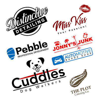 Logo Design service Custom Professional Choice of concepts Unlimited revisions.