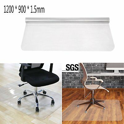Durable Frosted Non Slip Chair Desk Clear Mat Home Office Floor Protector Carpet