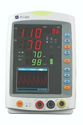 Creative PC-900Pro Vital Signs Monitor (SpO2, PR, NIBP & Temp) with Adult Soft