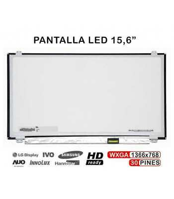 "Pantalla 15.6"" Hd Led Slim Ltn156At37 