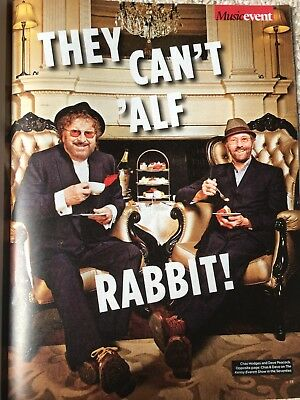 UK EVENT Magazine APRIL 2018: CHAS & DAVE Lissie BRYAN FERRY Roy Orbison