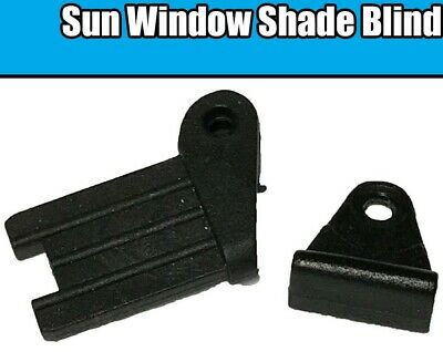Sun Window Shade Blind Corner Plastic Clips Brackets For BMW E38 E39 E46 E65 E66