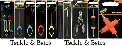 Fox Edge Baiting Tools & Needles 9 Different Options Carp Specialist Fishing