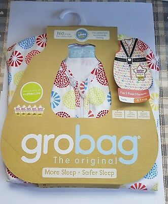 New in packaging Mothercare Grobag 0.5 tog 18 - 36mth baby sleeping bag summer