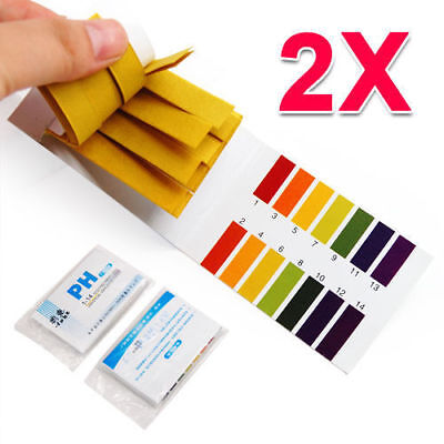 Laboratory 160 pH Indicator Test Strips 1-14 Paper Tester Litmus Urine & Saliva.