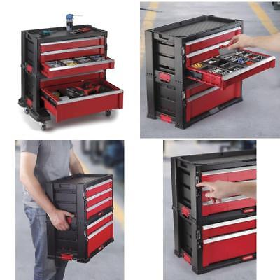 Keter 5 Drawer Modular Garage And Tool Organizer And Storage System Tool  Chest
