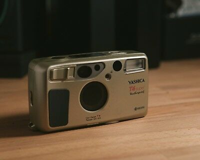 Yashica T4 Super 35mm Point & Shoot Film Camera - Tested