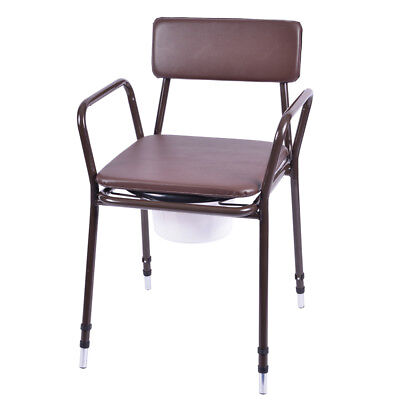 Viva Medi Height Adjustable Stacking Commmode (Cosmetically Damaged)