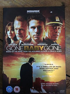 Casey Affleck Morgan Freeman GONE BABY GONE Ben / Lehane Kidnap Drama UK DVD