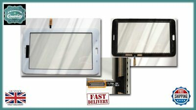 Samsung Galaxy Tab 3 Lite 7.0 T111 Digitizer Touch Screen Lens Front Glass White