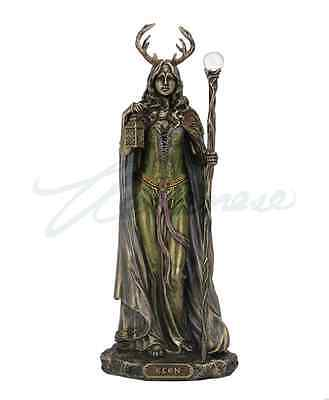 Elen Of The Ways - Antlered Goddess Of The Forrest Statue Sculpture Figure